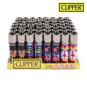 CLIPPER TIE DYE DESIGN LIGHTERS COLLECTION - Jupiter
