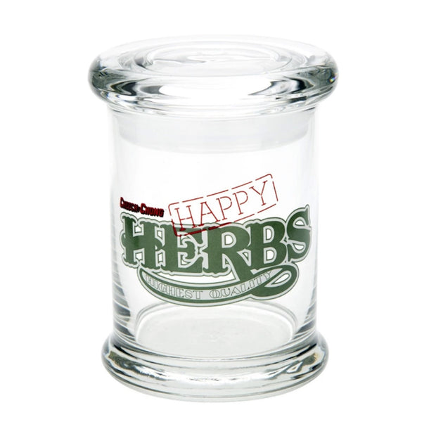 Cheech and Chong Happy Herbs Pop Top Jar - Jupiter
