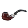 Classic Tobacco Pipe With Metal Ring - Jupiter