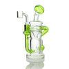 "GEAR Premium -7.5"" Solstice Concentrate Recycler W/Injection Perc & Quartz Banger - Jupiter"