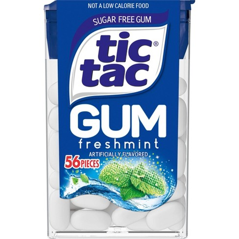 Tic Tac Fresh Mint Gum 56p - Jupiter