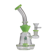 "Hydros- 7.5"" Hourglass Bubbler - Jupiter"