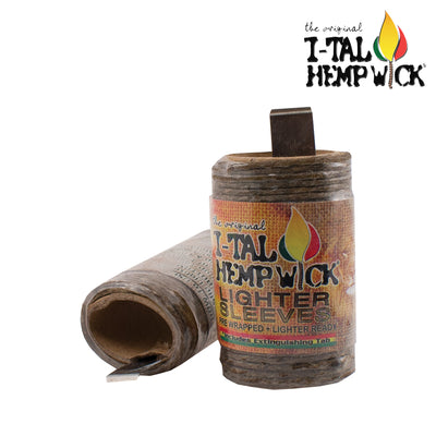 I-Tal Hemp Wick Lighter Sleeve- 15.5 ft - Jupiter
