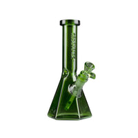 "Red Eye Tek 10"" Hextatic Tube with Six-Sided Pyramid Base & Embossed Logo - Jupiter"