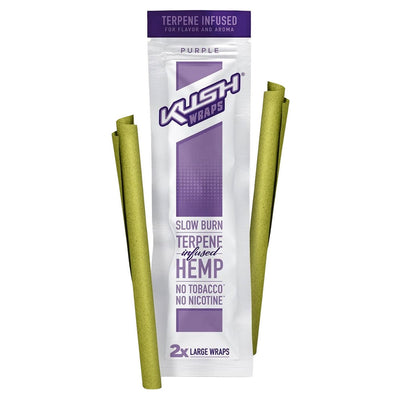 Kush Wraps with Terpenes - Purple (Grape/Berry) - Jupiter