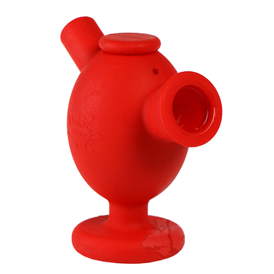 NoGoo Silicone Blunt Bubbler Red