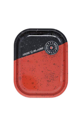 Nice Glass- Red & Black Mini Rolling Tray 7