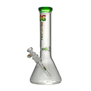 "OG Glass 14"" Beaker W/Colour Accents - Jupiter"