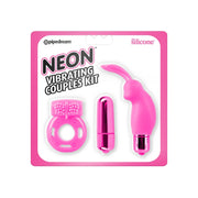Pipedream Products- Neon Vibrating Couples Kit Pink - Jupiter