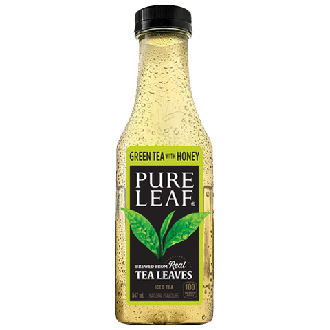 Pure Leaf Green Tea With Honey Iced Tea 547ml - Jupiter