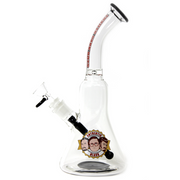 "Trailer Park Boys Glass  ""Authentic""  Water Pipe - Jupiter"