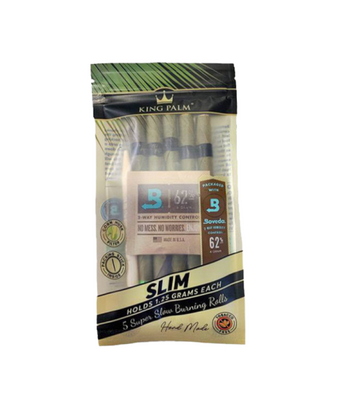 King Palm Pre-Roll Pouch Slim 1.5 Gram - 5 per pack - Jupiter