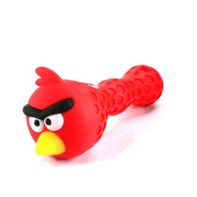 Silicone Angry Bird Hand Pipe - Jupiter
