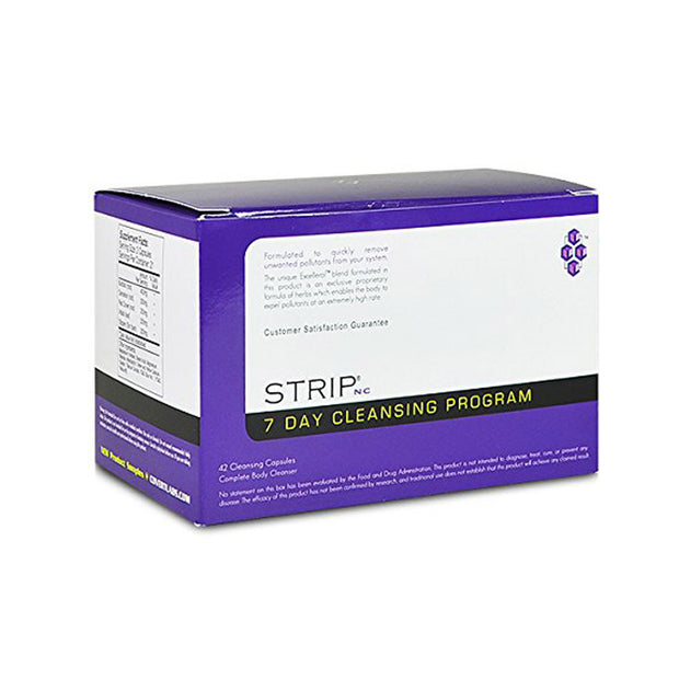 Strip Permanent Cleanser - 7 Day Cleansing Program