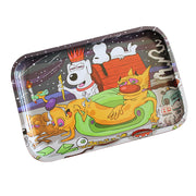 "Dunkees 13"" x 9"" Rolling Tray - Dawgz - Jupiter"