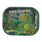 "Kill Your Culture Rolling Tray - 5.5"" x 7"" - Mariguana - Jupiter"