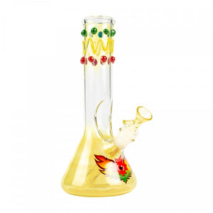"Red Eye Glass 9"" Charlie Brown Tube - Jupiter"