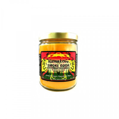 SMOKE ODOR EXTERMINATOR- 13oz Rasta Love Candle - Jupiter