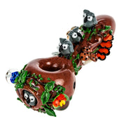 Empire Glassworks Hootie's Forest Spoon Pipe - Jupiter
