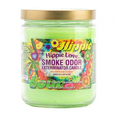 SMOKE ODOR EXTERMINATOR- 13oz Hippie Love Candle - Jupiter