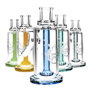 "Pulsar 5.5"" 45° High Class 14mm Ash Catcher with Colour Accents - Jupiter"