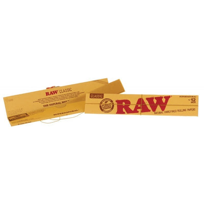 RAW Huge Supernatural Rolling Papers - 12 Inches Long - Jupiter