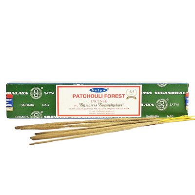 Satya- Patchouli Forest Incense 15g - Jupiter