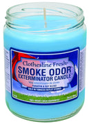 SMOKE ODOR EXTERMINATOR- 13oz Clothesline Fresh Candle - Jupiter