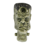 Buzz Ceramics Frankenstein Monster Pipe - Jupiter