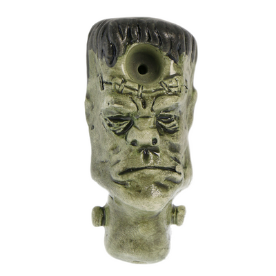 Buzz Ceramics Frankenstein Monster Pipe