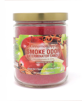 SMOKE ODOR EXTERMINATOR- 13oz Cinnamon Apple Candle - Jupiter