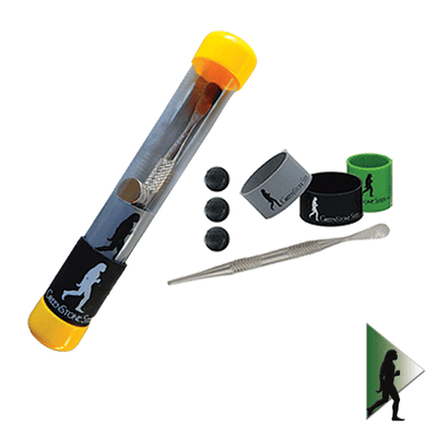 Magnetic Dab Tool, Poker & Lighter Kit by Greenstone Steel - Jupiter