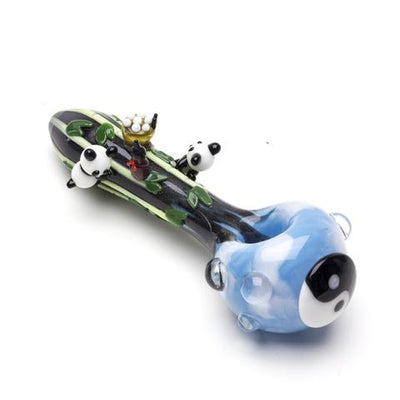 Climbing Pandas Spoon Pipe - Jupiter