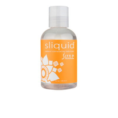 Sliquid Sizzle Lube 4.2 oz - Jupiter