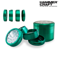 "2.25"" HAMMERCRAFT CLEAR TOP 4 PIECE GRINDER - Jupiter"