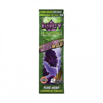 JUICY JAY HEMP WRAPS 2X GRAPES - Jupiter