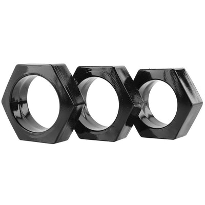 Evolved Novelties- Lug Nuts Cock Ring Set - Jupiter