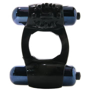 Duo-Vibrating Super Ring in Black - Jupiter