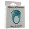 Teal Tickler Vibrating Cock Ring - Jupiter