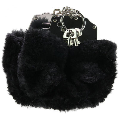 Fetish Fantasy Beginner's Furry Cuffs in Black - Jupiter