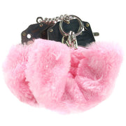 Fetish Fantasy Furry Cuffs in Pink - Jupiter
