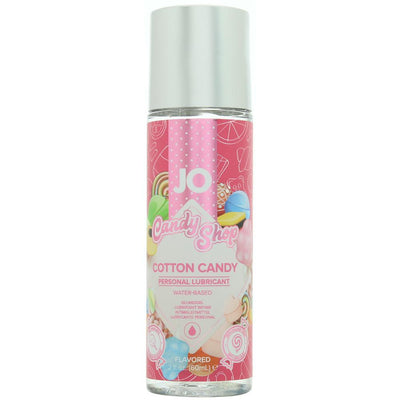 Candy Shop Flavored Lube 2oz/60ml in Cotton Candy - Jupiter
