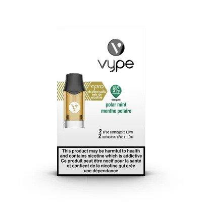 Vype ePod %5 (57mg) Polar Mint 2pk - Jupiter