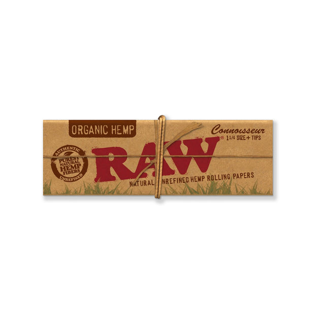 RAW Organic 1 1/4 Connoisseur With Tips