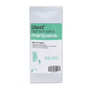 UTEST THC SALIVA TEST 10NG/ML - Jupiter