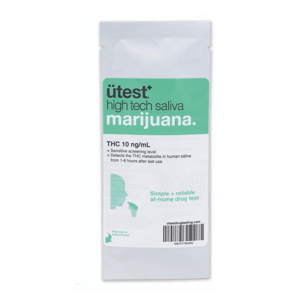 UTEST THC SALIVA TEST 10NG/ML