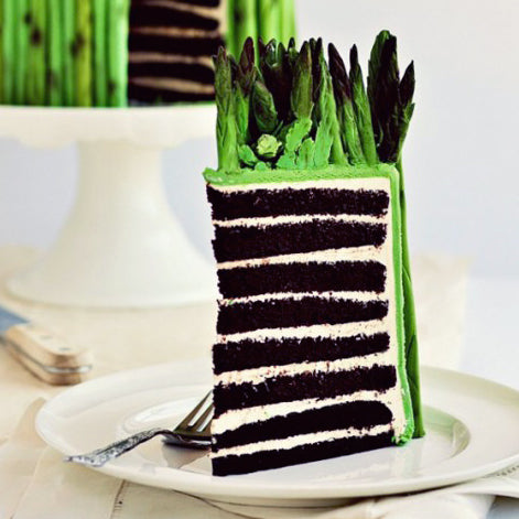 For the Love of Fondant Asparagus (and 8-Layer Cakes)