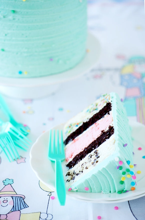 Birthday Medley Layer Cake