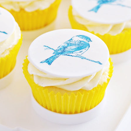 Vanilla Bean & White Chocolate Birdie Cupcakes {and Video Tutorial}