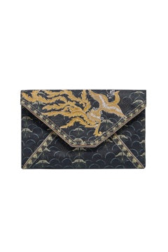 CAMILLA WISE WINGS ENVELOPE CLUTCH